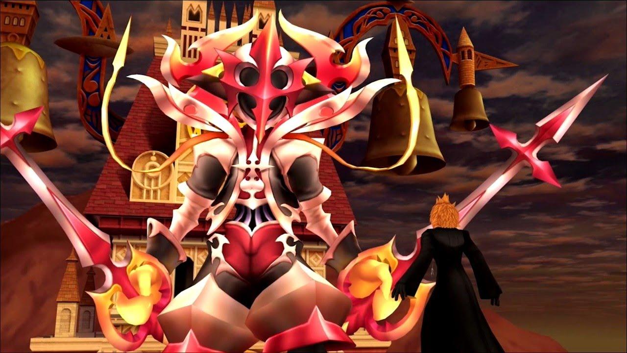 Roxas Vs. Xion Cutscene | Kingdom Hearts 358/2 Days HD - YouTube