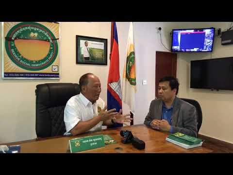 FB Live: Mr. Mam Sonondo, Director of Bee Democracy Party