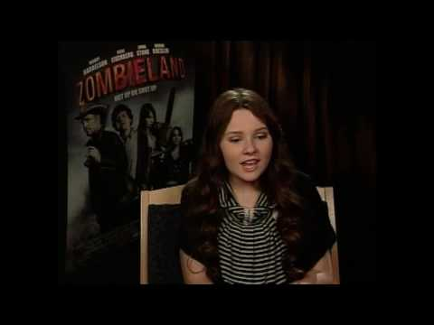 Abigail Breslin interview for Zombieland