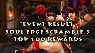 SOULCALIBUR: Lost Swords - Sweet Chocolat Series ・ Top 100 Rewards of Soul Edge Scramble ³