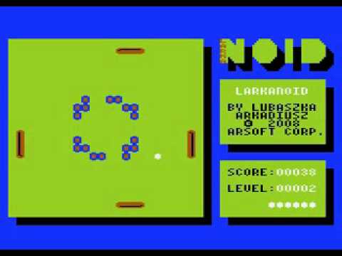LarkaNOID - Atari 800XL / 130XE
