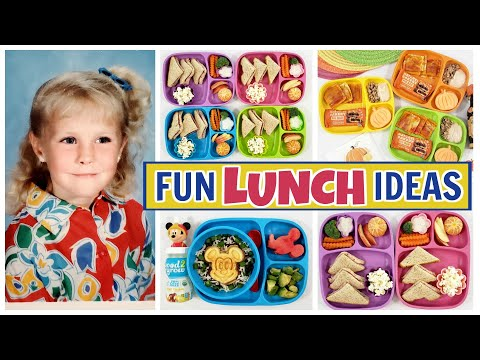 Play with Your LUNCH! Science, 90's & Pumpkin Themed Lunches for KIDS