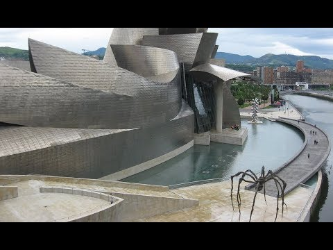 Places to see in ( Bilbao - Spain ) Guggenheim Museum Bilbao