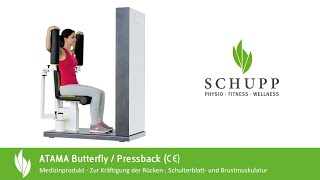 MTT Butterfly / Pressback Kombi ATAMA Compact von Schupp