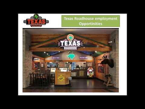 Texas Roadhouse employment video