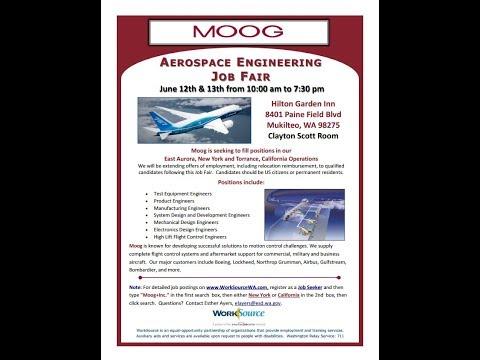 Moog Aerospace Engineering Job Fair