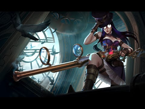 Caitlyn's strategic cupcake - League of Legends