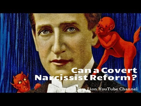 Can a Covert Narcissist Reform? - YouTube
