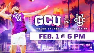 GCU Men's Volleyball vs. UC Irvine Feb 1, 2019
