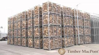 Repeat youtube video Kaminholz Produktion von Timber Macpom  Lieferung von Kaminholz Brennholz Ofenholz