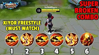 Hayabusa Users, You Must Try This SUPER BROKEN XIYOR FREESTYLE COMBO! | MOBILE LEGENDS