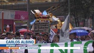 Así sí: las muestras culturales presentadas durante las marchas en Bogotá