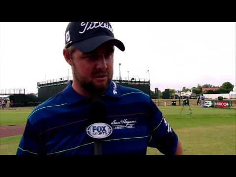 Marc Leishman final-round interview at the 2014 Open
