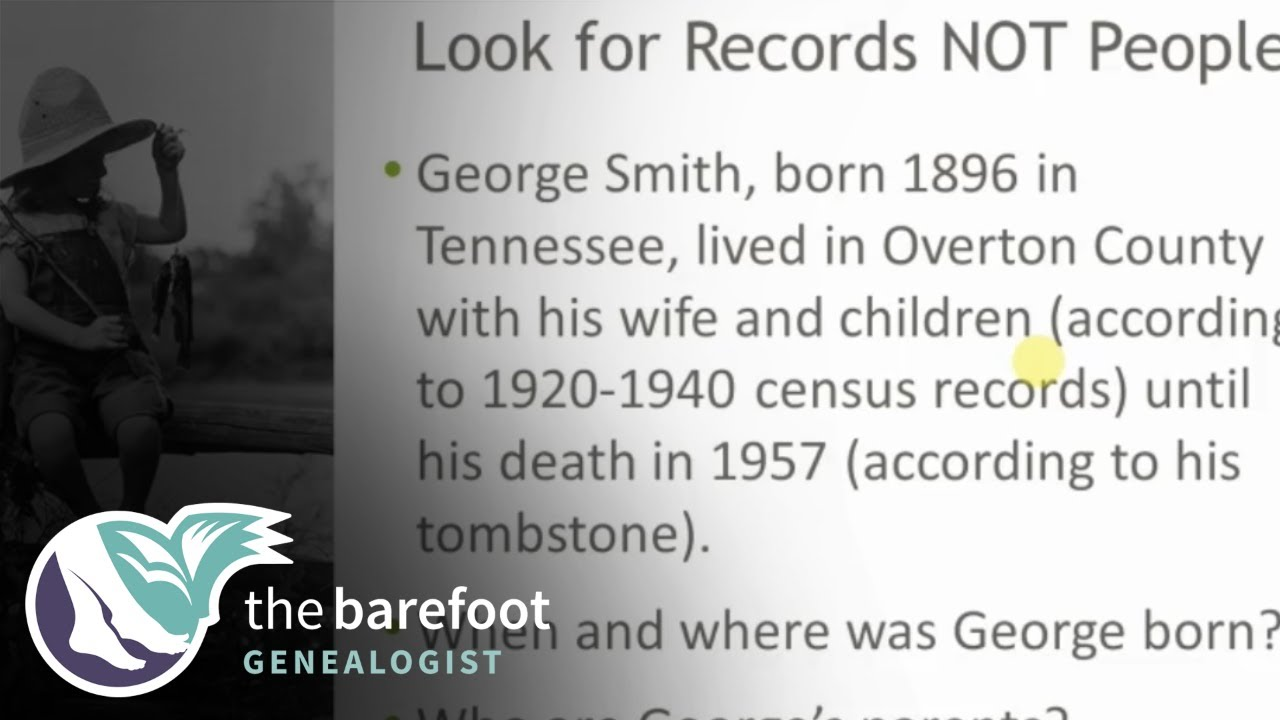 Smarter Searching:  Look for Records Not People | Ancestry