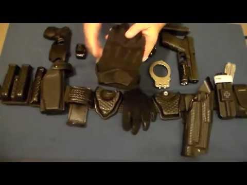 Law Enforcement Duty Belt Setup & EDC