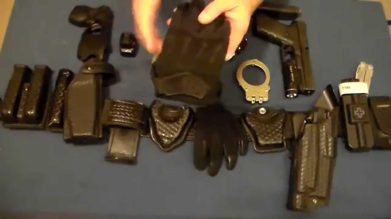 Pin On Police Duty Belt