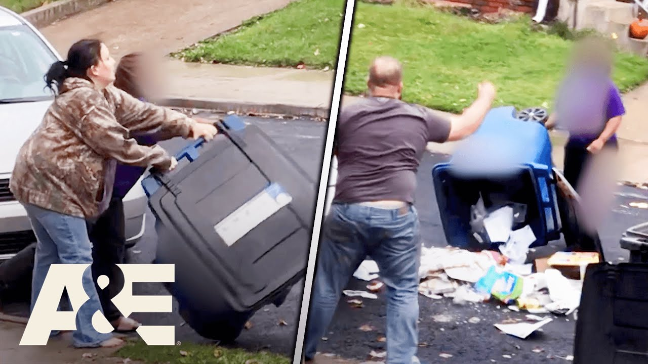 Download Neighbors' Messy FIGHT Over Trash Can Placement   Neighborhood Wars   A&E