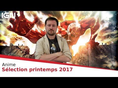 Anime Printemps 2017 : notre sélection à surveiller