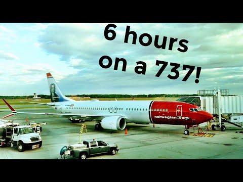 A 737 across the Atlantic! NORWEGIAN 737MAX REVIEW