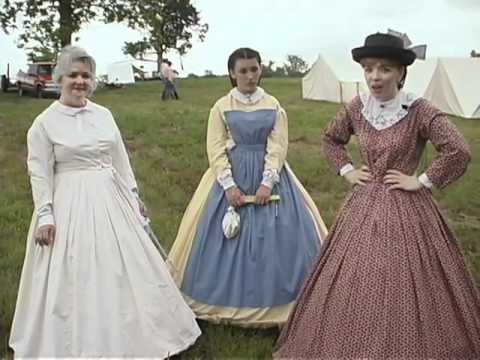 Women's Fashion from the 1860's