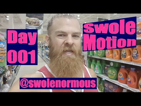 Preparation Anxiety, Old School, Bacteria TVs | SwoleMotion Day 001