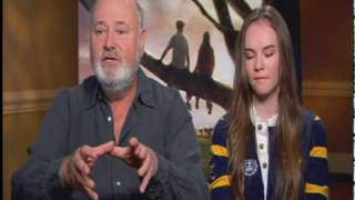 """Rob Reiner And Madeline Carroll Talk """"FLIPPED"""""""