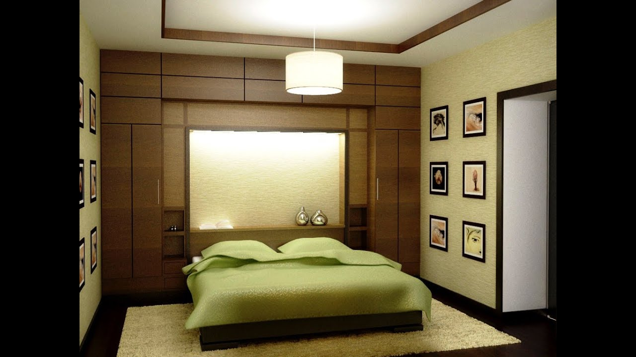 Bedroom color schemes youtube Bedroom wall designs in pakistan