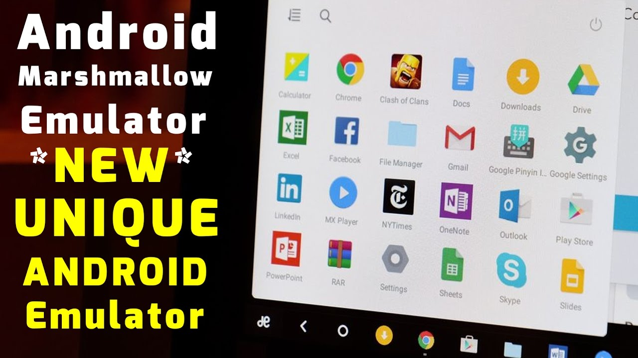 android emulator for pc download youtube