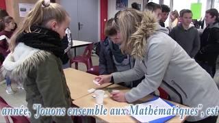 La 8ème édition de la Semaine des Mathématiques