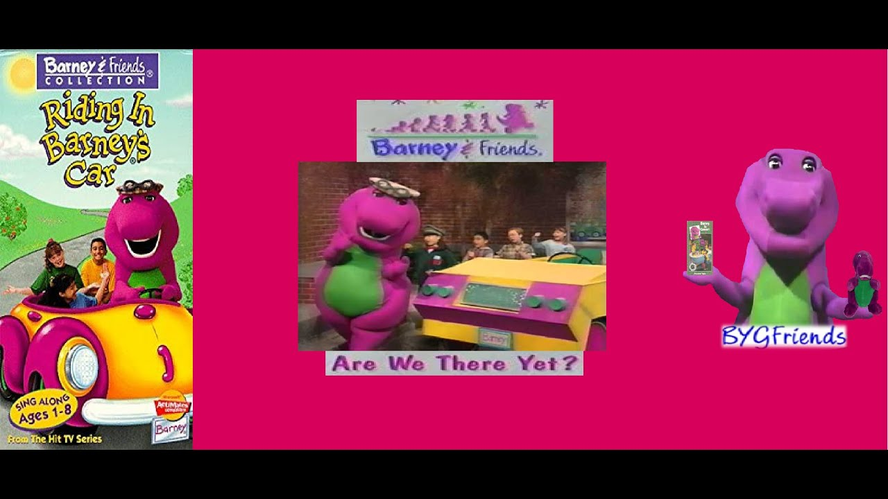 Barney & Friends Season 3, Episode 17: Are We There Yet? aka