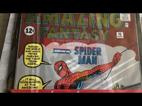 "Unboxing SMASH ""Marvel clásicos"" Amazing Fantasy #15 + Amazing Spider-Man #1 y #2"