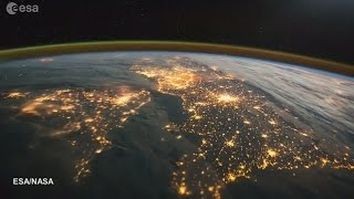 Tim Peake shares stunning footage of the UK from Space