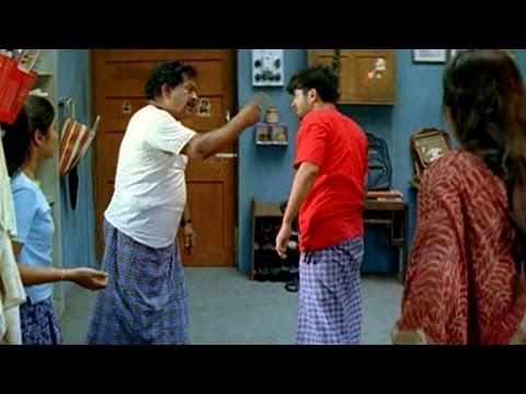 7/G Brindhavan Colony || Chandra Mohan Beating  Ravi Krishna Scene || Ravi Krishna, Sonia Agarwal