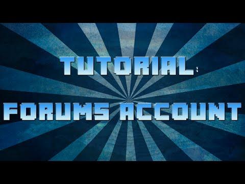 Creating a Forum Account | Minecraft Server IP Below