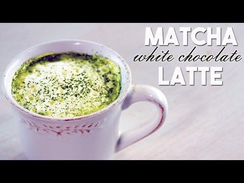 Matcha White Chocolate Latte (Hot Beverage Recipe)【ホッと一息】抹茶ホワイトチョコレートラッテを作りました