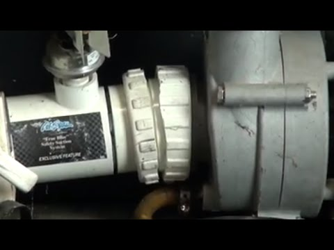 Hot Tub Broken Pump Union Emergency Repair The Spa Guy How To Series