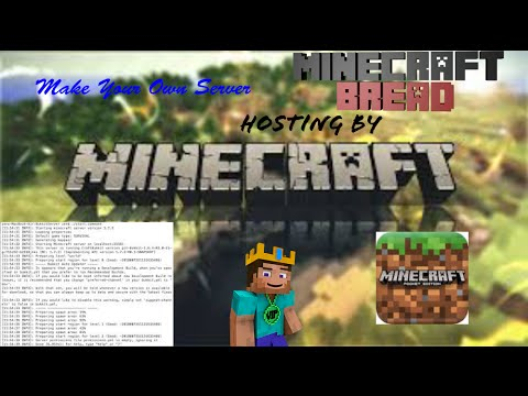 how to make own server on minecraft pe