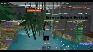 ROBLOX Live in Bikini Bottom / Iva383!