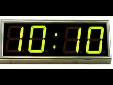 Совпадение цифр на часах 11 : 11 , 23 : 23 ,     2 ЧАСТЬ