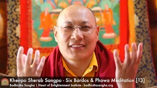 Six Bardos & Phowa Meditation [13]