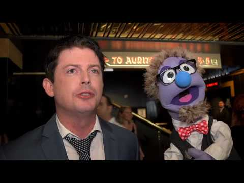 That time actor Manu Intiraymi talked to a puppet at the Red Carpet Premiere of Unbelievable!!!!!