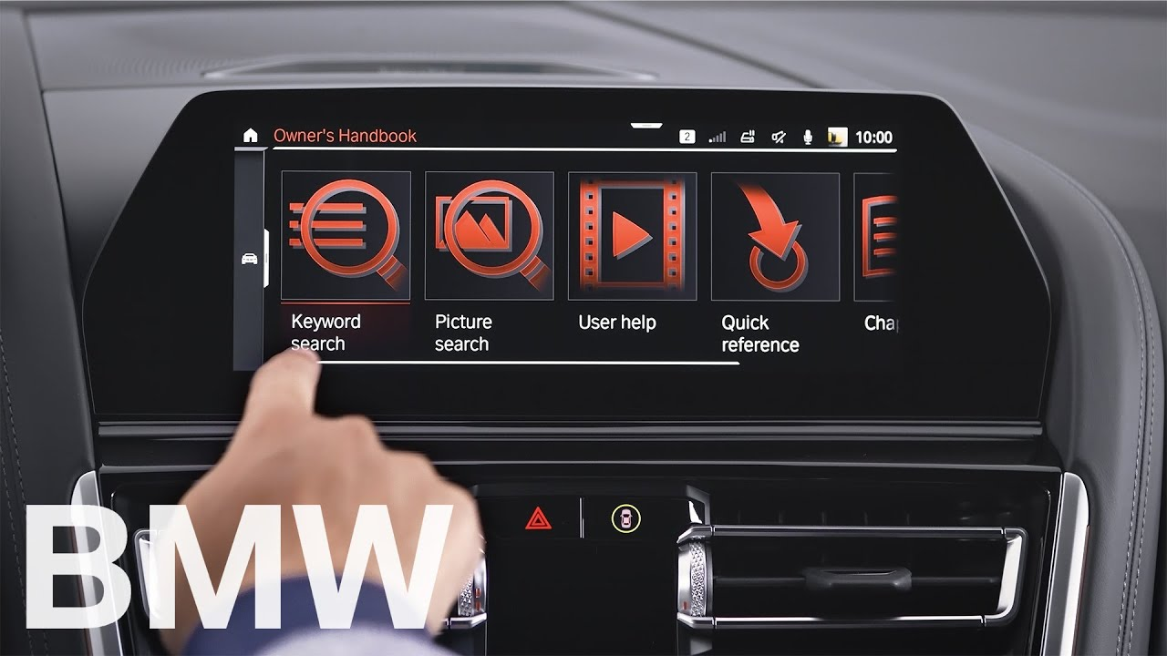 How to use the Owner's Handbook integrated in your BMW – BMW How-To