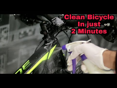 How to Clean your Bicycle at home