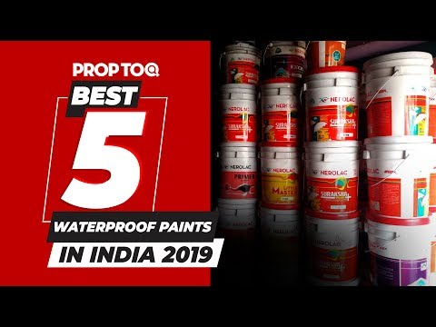 Best 5 Waterproof Paints In India 2019 Youtube