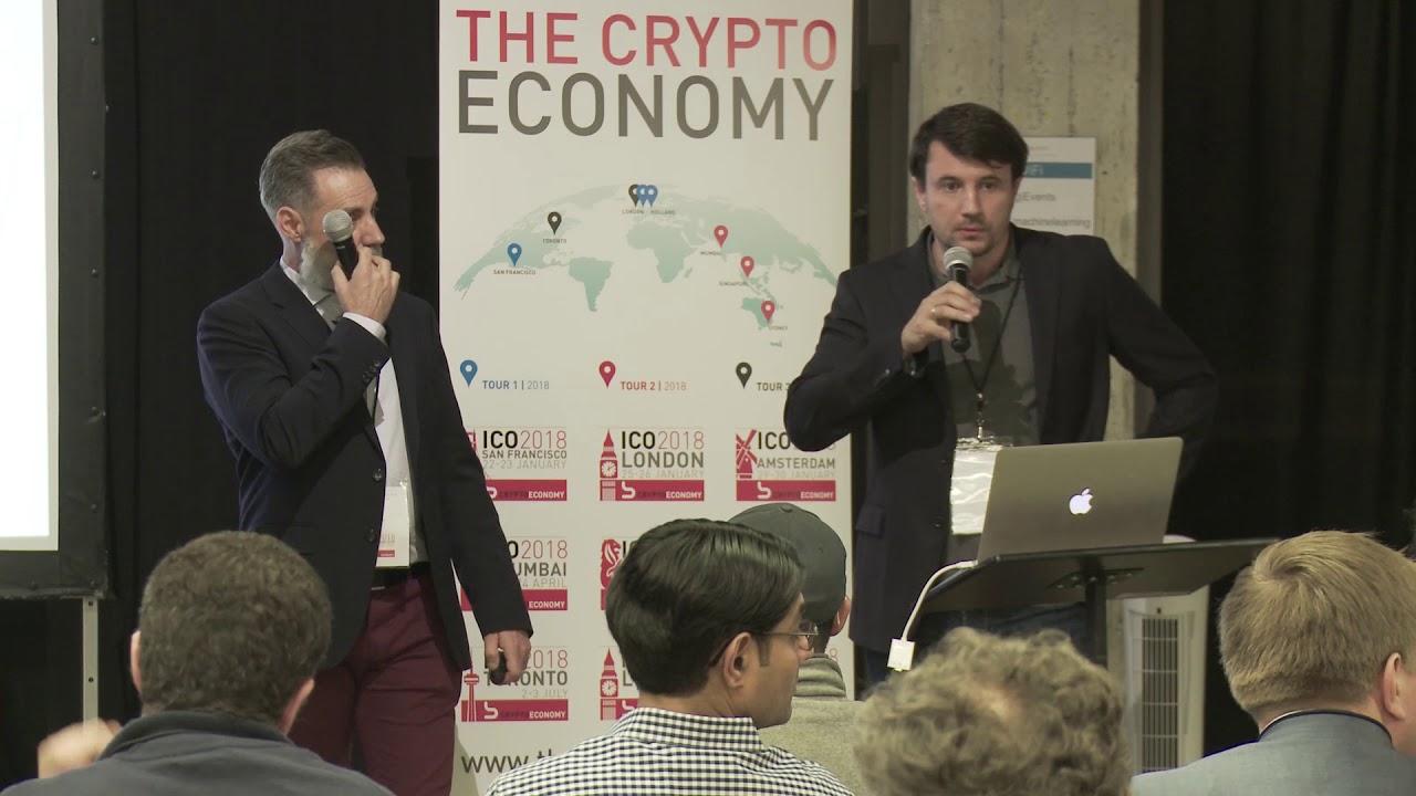 ICO Credits - Kryptowährung Konferenz San Francisco