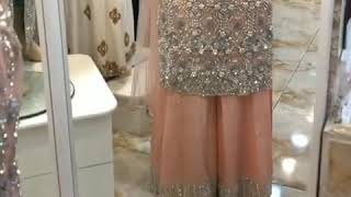 Alzawiah Designer Wow What A Stunner this Bridals Dresses we have,Sharrara suits,Paint suit And Gown