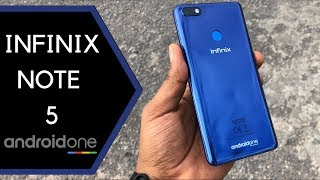 Infinix Note 5 Unboxing and Quick Review of Android One