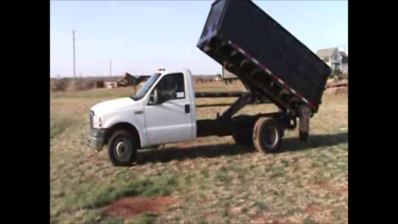 2007 Ford F350 Super Duty Dump Bed Truck For Sale