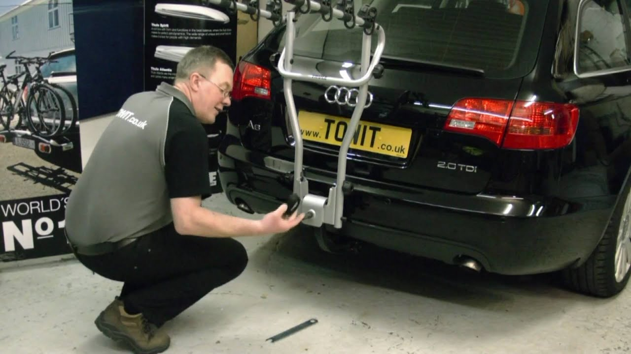 Thule 9708 Hang On Cycle Carrier Youtube