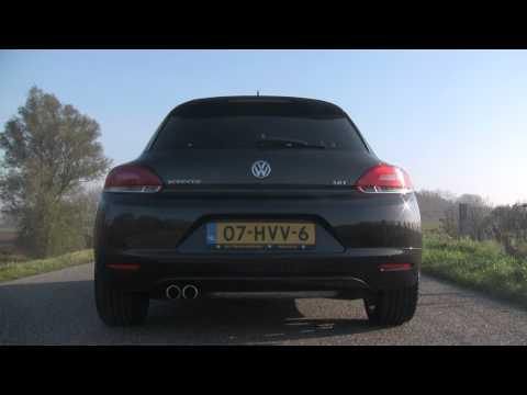 VW Scirocco 2.0 TSI NICE Revving (Interior, Engine, Exhaust)